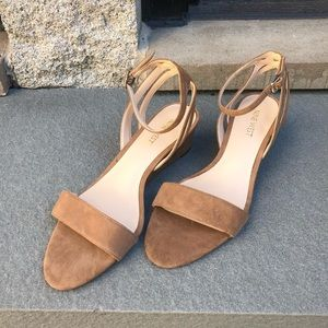 NEW Nine West wedged sandals